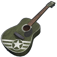 Army Acoustic Guitar
