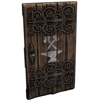 Artisan Wooden Door