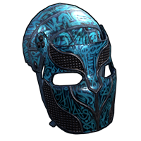 Azul Metal Facemask