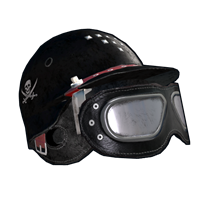 Biker Goth Helmet