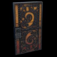 Blacksmith's Door