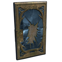 Broken Mirror Door