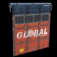 Cargo Truck Garage Door