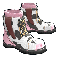 Cow Moo Flage Boots