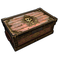 Cursed Pirate Treasure Chest