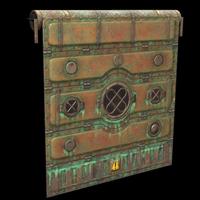 Deep Sea Garage Door