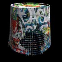 Graffiti Bucket Helmet