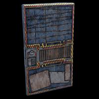 Grid Door