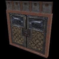 Hell Walker Double Armored Door