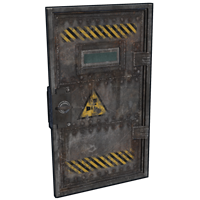 Laboratory Armored Door