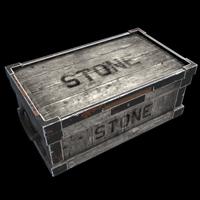 Large Stone Box