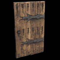 Lone Wolf Door