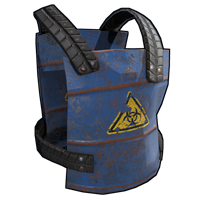 Metal Barrel Chest Plate