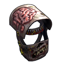 Metal Zombie Helmet
