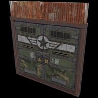 Military Double Door
