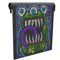 Monster Garage Door