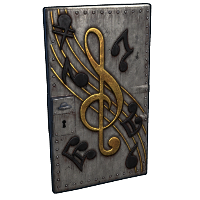 Musical Notes Door