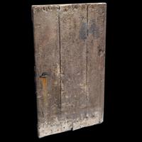 Old Heavy Wooden Door