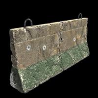 Outpost Concrete Barricade
