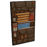 Pixel Metal Door