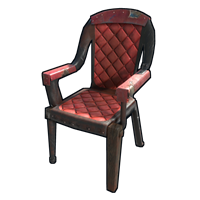 Red Leather Chair