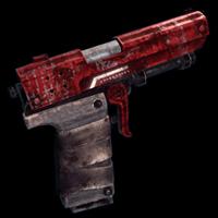 Red Shine Pistol
