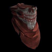 Red Skull Bandana