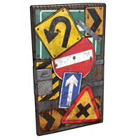 Roadsign Door