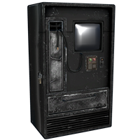 Rox Black Vending Machine