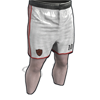 Rust Footballer Shorts