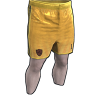 Rust Goalkeeper Shorts