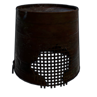 Rusty Bucket Helmet