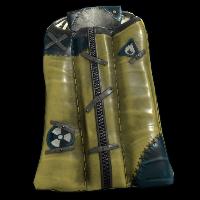 Salvaged Hazmat Bag