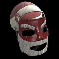 Santa Metal Facemask
