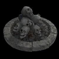 Skull Fire Pit