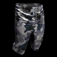 Snow Camo Shorts