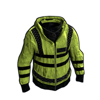 Yellow Police Jacket