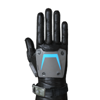 Emissive Stripes Gloves