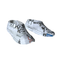 Newspaper Boots